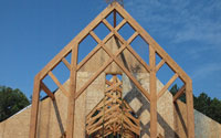 timber frame chapel